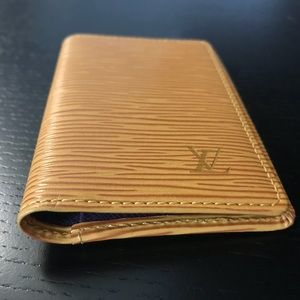 Louis Vuitton Epi Leather Small Card Case